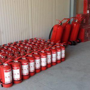 stingătoare de incendiu