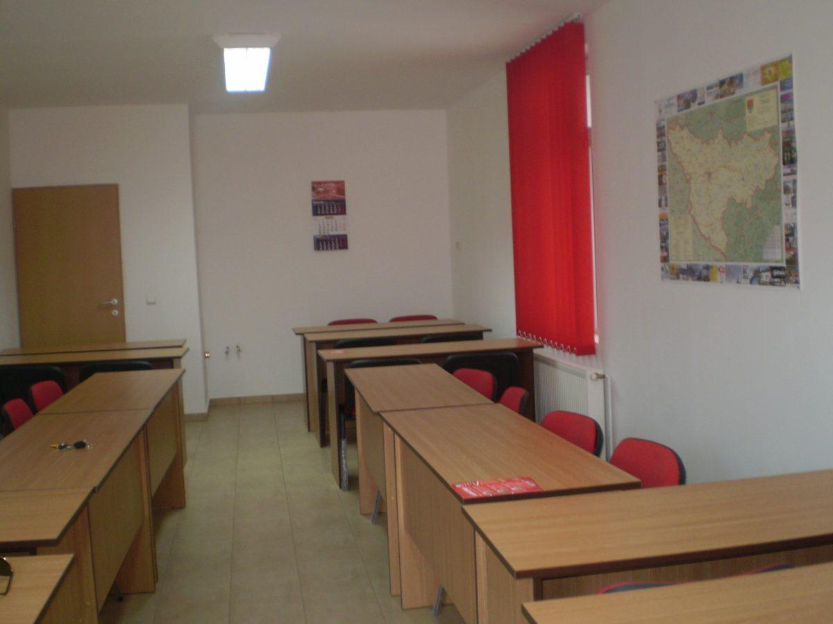 sala de cursuri pompieri